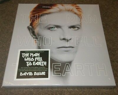 David Bowie The Man Who Fell To Earth Soundtrack Deluxe Box Set 2 Lp 2 Cd  Vinyl