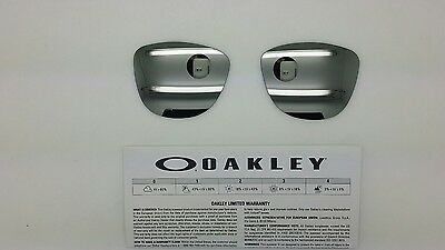 Oakley FROGSKINS lenti ricambio color CHROME  iridium model 9013 cal 55 ORIGINAL