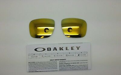 Oakley HOLBROOK lenti ricambio colore 24K   iridium model 9102 ORIGINALI