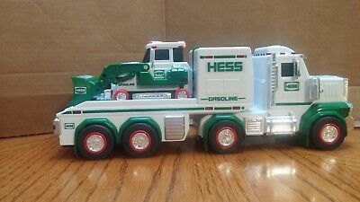 2013 Hess Gasoline Toy Truck and Tractor