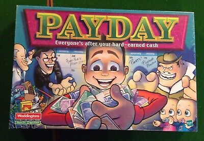 Payday Board Game by Waddingtons 2000 - NEW
