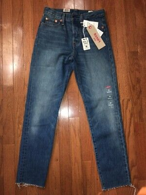 Women's Levi's Wedgie Fit Jeans Coyote Desert Wash Size 25 NWT