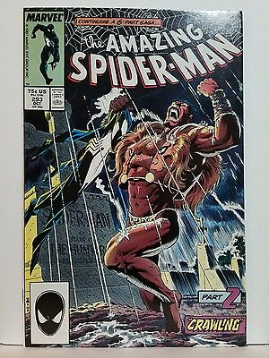 Amazing Spider-Man 293 1987 NM/NM+ 9.4-9.6 High-Grade Kraven the Hunter Wow!!
