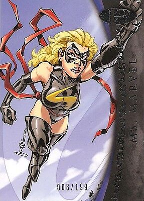 2012 Marvel Premier MS. MARVEL No. 18 Base Card #008/199