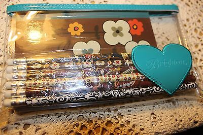 Brighton ~ NEW ~ MSRP $25.00 ~ Poly Pencil Pouch