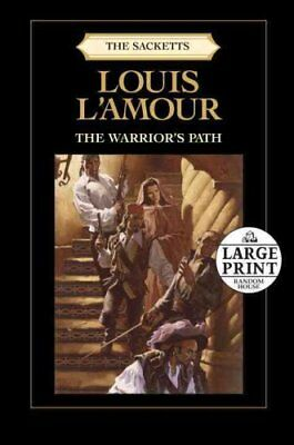 Large Print The Warrior's Path by Louis L'Amour 9780739378076 (Paperback, 2011)