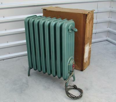 Vintage 1940s Conco Heat Electric Radiator Heater New in Box Mid-Century Modern