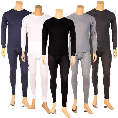 8e2d7dd1333 Mens 2pc Thermal Underwear Set Long Johns Waffle Knit Top Bottom S M L XL  2X 3X