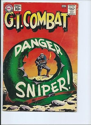 G. I. Combat 88 - Vg- 3.5 - 2Nd Appearance Of The Haunted Tank (1961)