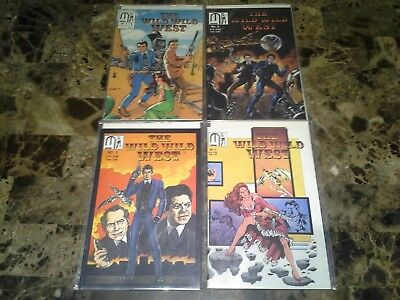 Wild Wild West 1 2 3 4 1-4 NM- to VF+ 9.2 to 8.5 Complete Set TV Series