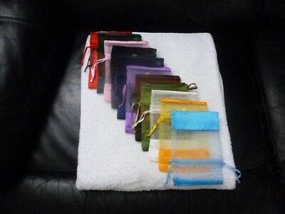 Organza Pouches & Jewelry Bags 4 x 6 Multicolor