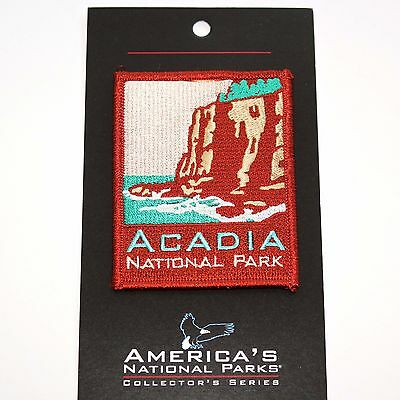 Official Acadia National Park Souvenir Patch ANP Series Maine Iron-on NPS