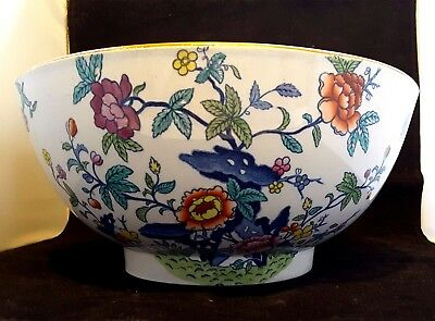 Booths~Silicon China England~The Pompadour~Antique~Edwardian~Wash Bowl~c.1906+