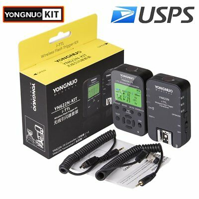 Yongnuo Kit YN-622N YN622N-TX Wireless Flash Trigger Transceiver Controller US