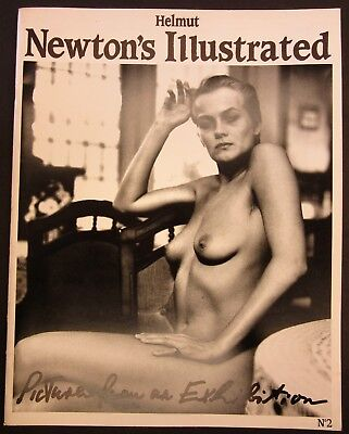 HELMUT NEWTON'S ILLUSTRATED~#2~Pictures From an Exhibition~Female Nude Photos