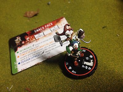 Horrorclix freak show the snack pack scary clowns with card