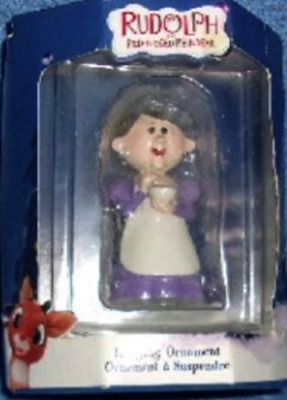 * MRS.SANTA * Ornament Rudolph Island of Misfit Toys  Rare