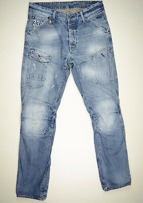 G-Star Jeans 'GENERAL 5620 TAPERED' Well Worn Aged W32 L34 RRP $289 Mens Boys