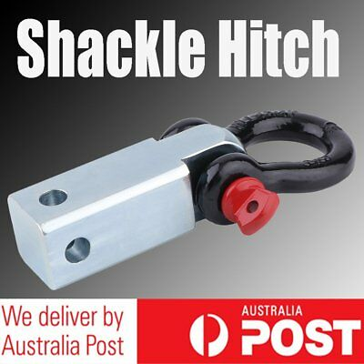 5 Tonne Recovery Hitch Receiver Pin Bow Shackle Tow Bar 4WD Off Road Solid Steel