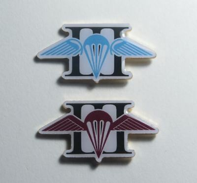 3rd Battalion Blue & Cherry Parra Wings Royal Australian Regiment 3RAR Lapel pin