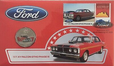 1971 FORD XY FALCON GTHO PHASE III 2017 50c PNC: LIMITED TO 9000