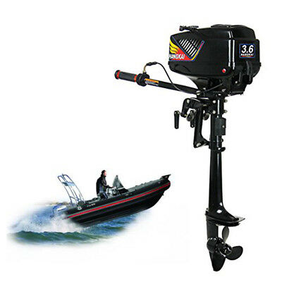 3.6 HP Outboard Motor Engine Water Cooling Boat Canoe Marine 2-stroke Engine USA