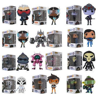 Funko Pop Game Overwatch D.VA MEKA Reinhardt Widowmaker Action Vinyl Figure Toy