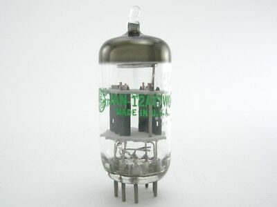 4 Tubes - GE 12AT7WC/ECC81/6201 electron tubes