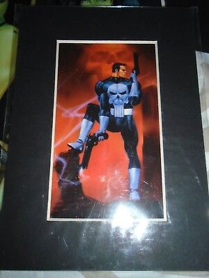 The Punisher  Laser Cell Marvel Comics Lasermach  5x7