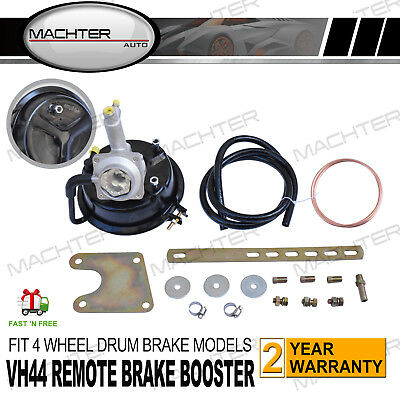 """Universal VH44 7"""" Remote Brake Booster For Ford Fairlane Falcon XP XR XT Nissan"""