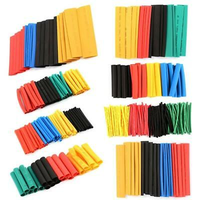Hot Sale Assorted 2:1 Heat Shrink 328 Pcs 5Colors 8 Sizes Tubing Wrap Sleeve Kit