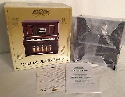 NEW OLD STOCK! Mr. Christmas Gold Label Holiday Player Piano Perfection ShipFAST