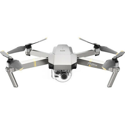 DJI Mavic Pro Drone Platinum Fly More Combo Ship from EU