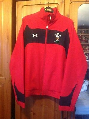 Under Armour Wales Rugby Jacket Size Md