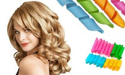 Unique Curlformers Long Hair Wide Spiral Curls Styling Curlers 28 cm 5 pcs