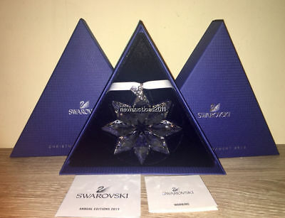 2013 Large Swarovski Crystal Christmas Ornament Star Snowflake #5004489