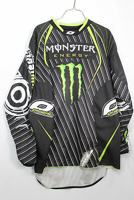 O'Neill Monster Energy Motorcross Bike Racing Jersey Size XL