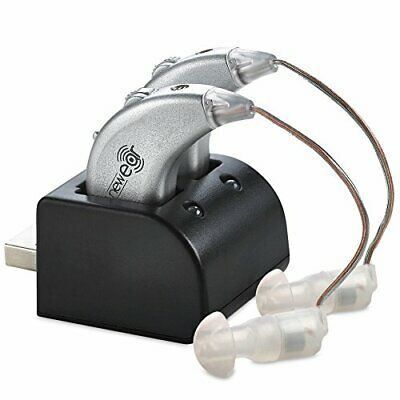 NewEar Premium Digital Hearing Amplifier Rechargeable BTE Personal Sound Device