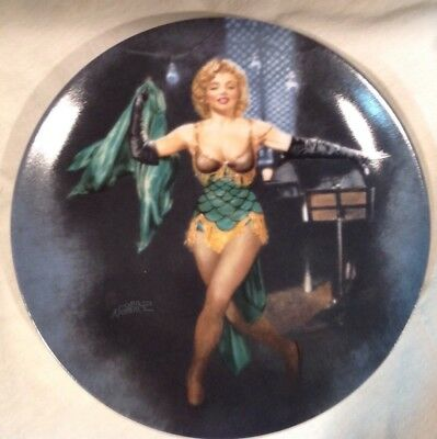 Marilyn Monroe Cherie In Bus Stop 1992 Collector Plate # 588A