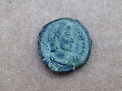 Ancient Roman Coin 15.8 Mm X 14.8 Mm