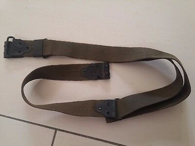 WWI or WWII THOMPSON or SPRINGFIELD KHAKI or OD WAB SLING ORIGINAL US. MRT