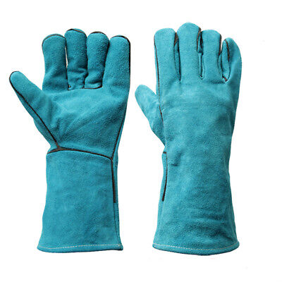 Gloves Lengthening  Thickening 1Pair  Labour Welding Gloves Protection  Work