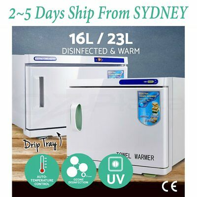 16/23L Towel Sterilizer Warmer Cabinet Disinfection Heater Facial Beauty BG