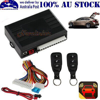 Auto Remote Central Controllers Kit Door Lock Locking Keyless Entry System DT