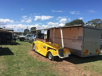 Drag Car DODGE CHEV FORD HOT ROD  COMPLETE WITH ENCLOSED TRAILER READY TO RACE