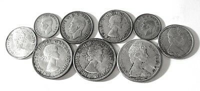 Exact Coins: $5.50 F.v. @ 80% Canada Silver W/sil. Dollars * U.s.a. Ship Only