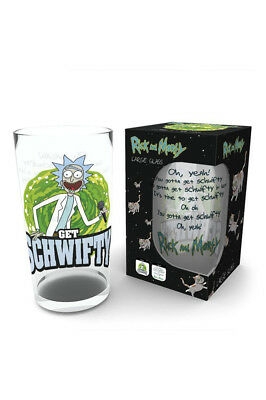 Rick And Morty, Get Schwifty Glas Gro? 500ml GLB0162