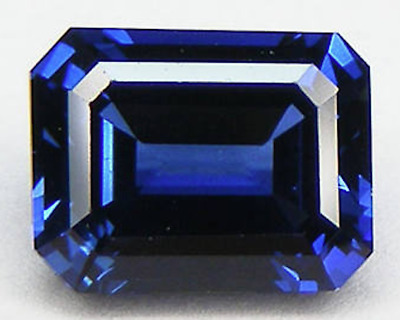 LAB-CREATED SYNTHETIC BLUE Sapphire Nano Crystal Octagon Loose  Stones(5x3-40x30)