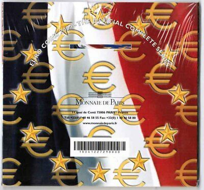 Francia Officiale Set Monete 1 Cent fino 2 Fior Conio