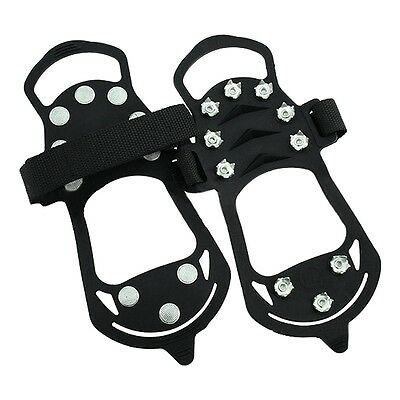 Shoe spikes Shoe claws, anti-slip crampons shoes, spikes Snow chain for the M1B0